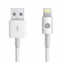 Datový kabel iPhone Lightning MFI bílý 100 cm