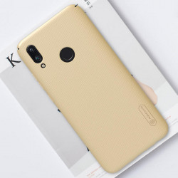 Huawei P Smart (2019) puzdro zadné, zlaté Super Frosted