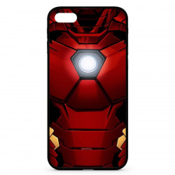 Apple iPhone 8 Plus púzdro zadné červené Iron Man